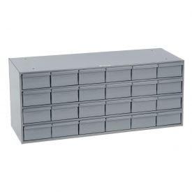 Durham Steel Storage Parts Drawer Cabinet 033-95 - 24 Drawers