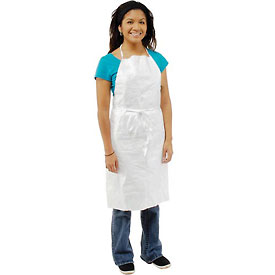 Disposable Tyvek® Apron, Case Of 100