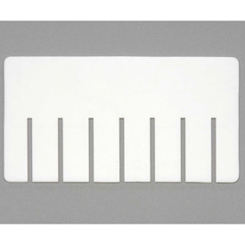 Dandux Width Divider 50P0011053 for Dividable Stackable Box 50P0112060,50P0112070, 50P0112080 White