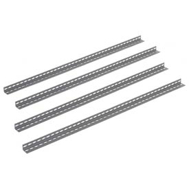 10' High Gray Angle Post Set of 4