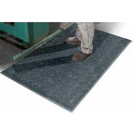 """All Purpose 24inch Wide 1/2"""" Thick Mat Black"""