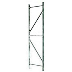 Wireway Pallet Rack Tear Drop Upright Frame - 96x36