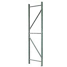 Husky Rack & Wire IU18420120 Pallet Rack Tear Drop Upright Frame - 120x42
