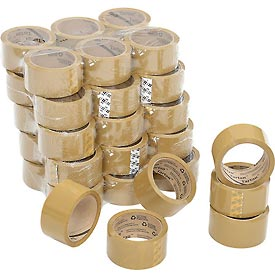 "3M™ Tartan™ 369 Carton Sealing Tape 2"" x 55 Yds. 1.6 Mil Tan - Pkg Qty 36"