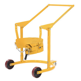 Mobile Drum Carrier for 55 Gallon Steel Drums 800 Lb. Capacity