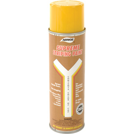 Yellow Striper Premium Spray Paint - Pkg Qty 12