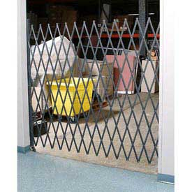 Single Folding Security Gate 5-1/2'W x 8'H