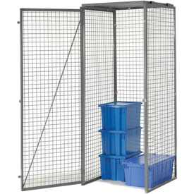 Bulk Storage Locker Single Tier 4' X 4' Starter Without Roof