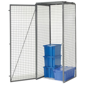Bulk Storage Locker Single Tier 3' X 5' Starter With Roof