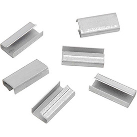 "Steel Strapping Seals For Use With 3/4""W Steel Strapping Tools - 1,000 Pack"