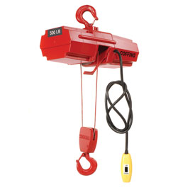 Coffing® Electric Wire Rope Hoist 500 Lb. Capacity
