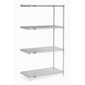"Nexelate Wire Shelving Add-On 36""W X 18""D X 63""H"