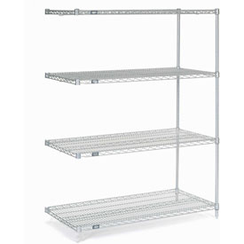 "Nexelate Wire Shelving Add-On 48""W X 24""D X 63""H"