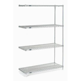 "Nexelate Wire Shelving Add-On 48""W X 18""D X 74""H"