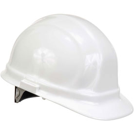ERB™ 19951 Omega II Hard Hat, 6-Point Ratchet Suspension, White
