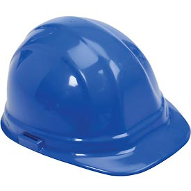 ERB™ 19956 Omega II Hard Hat, 6-Point Ratchet Suspension, Blue