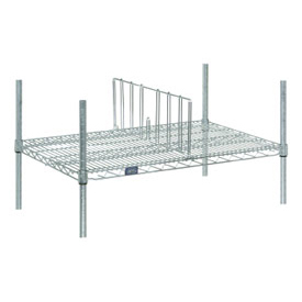 "Divider 14""D X 8""H for Wire Shelves"
