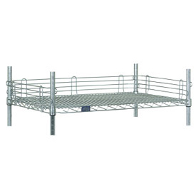 "Ledge 42""L X 4""H for Wire Shelves"