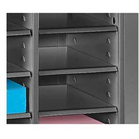 Additional Trays for Legal Size Literature Sorter - Black