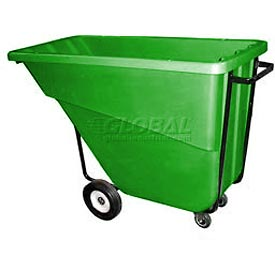 Bayhead Products Green Medium Duty 5/8 Cubic Yard Tilt Truck 1000 Lb. Capacity
