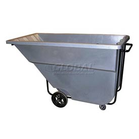 Bayhead Products Gray Medium Duty 1.1 Cubic Yard Tilt Truck 1200 Lb. Capacity