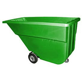 Bayhead Products Green Light Duty 1.1 Cubic Yard Tilt Truck 600 Lb. Capacity