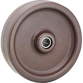 "8"" x 2"" Molded Plastic Wheel - Axle Size 1/2"""