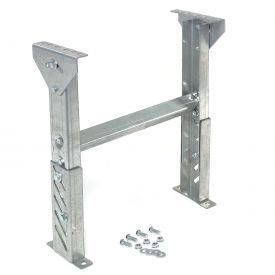 """Leg Support 18"""" to 24""""H for Omni Metalcraft 24"""" Between Frame Width Ball Transfer Table"""