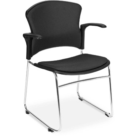 Upholstered Chair With Armrests - Pkg Qty 4