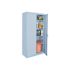 Sandusky Elite Series Storage Cabinet EA42361878 - 36x18x78, Gray