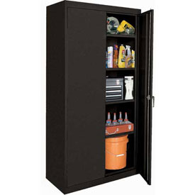 Sandusky Elite Series Storage Cabinet EA42362478 - 36x24x78, Black