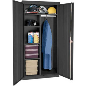 Sandusky Elite Series Combination Storage Cabinet EAC2361878 - 36x18x78, Black