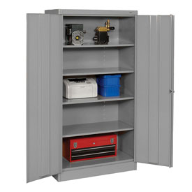 Tennsco Metal Storage Cabinet 1480 02 - 36x24x72 Medium Grey