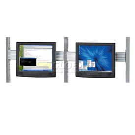 Flat Panel Monitor Track For 48 Inch Lan Station