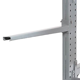 "Cantilever Rack Straight Arm With 2 Inch Lip, 36"" L, 2400 Lbs Capacity"