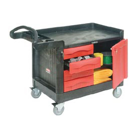 Rubbermaid® TradeMaster® 4533-88 1 Door - 4 Drawer 49x26 Workcenter