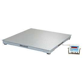 "Brecknell 60"" x 60"" Low Profile Digital Pallet Scale 10,000lb x 2lb"