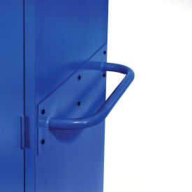 Sandusky Cabinet Push Handle TSH, Blue
