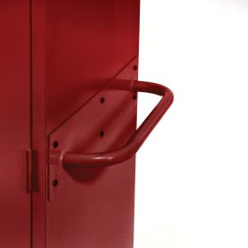 Sandusky Cabinet Push Handle TSH, Red