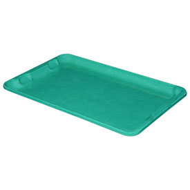 "Molded Fiberglass Toteline Nest and Stack Lid 780318 - 19-3/4"" x 12-1/2"", Pkg Qty 10, Green - Pkg Qty 10"