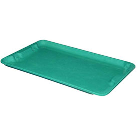 "Molded Fiberglass Toteline Nest and Stack Lid 780518 - 24-1/4"" x 14-3/4"", Green - Pkg Qty 10"
