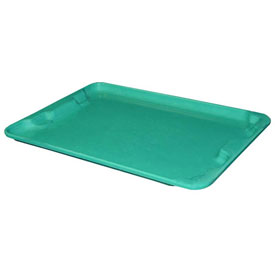 "Molded Fiberglass Toteline Nest and Stack Lid 780718 - 27-1/2"" x 20"", Pkg Qty 5, Green - Pkg Qty 5"