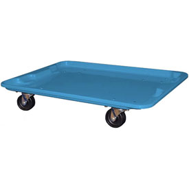 "Molded Fiberglass Toteline Dolly 780738 for 27-1/2 "" x 20"" x 14-1/8"" Tote, Blue"