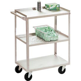 Jamco Stainless Steel Utility Cart XV130 30 x 18 x 35 1200 Lb. Capacity