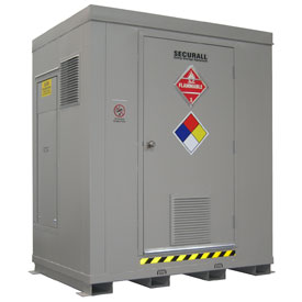 Outdoor Hazardous Chemical Storage Building - 6 Drum