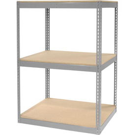 "Record Storage Rack Without Boxes 42""W x 30""D x 60""H"