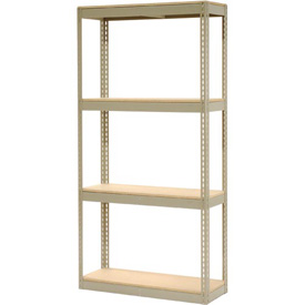 "Record Storage Rack Without Boxes 42""W x 15""D x 84""H"