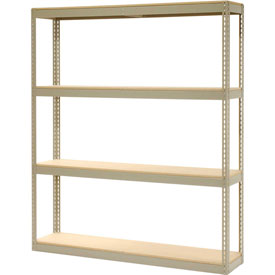 "Record Storage Rack Without Boxes 72""W x 15""D x 84""H"