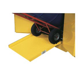 "Global™ Steel Ramp For Drum Storage Flammable Cabinet - 23""W x 25""D x 4'H"