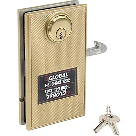 Mortise Door Lock With 2 Keys for Sliding Doors